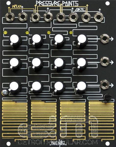 Make Noise Punti di Pressione  Eurorack Modulo  Nuova Detroit Modulare]