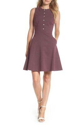 Glamorous Womens Sleeveless Fit and Flare Dress
