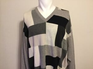 Mens John Laing Of Hawick 100 Pure Cashmere Sweater Size Xxl Big