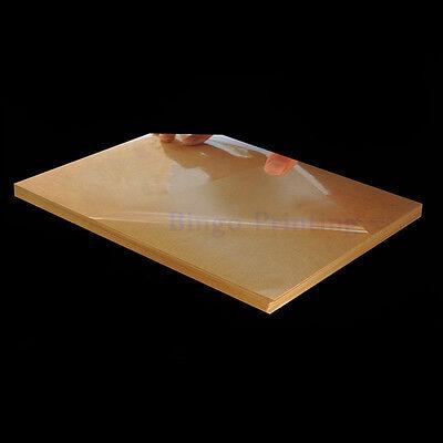 100PCS A4 PVC Sticker Vinyl Sticker Transparent Clear Sticker For Laser Printer