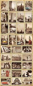 32pcs-Lot-Vintage-Retro-Posters-Old-Travel-Postcards-Wall-Decoration-Cards-Set