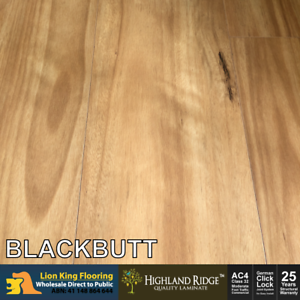 12mm Laminate Flooring Ac4 Super E0 Blackbutt 1 8m 1 2m 0 6m 3 Boards Each Ebay