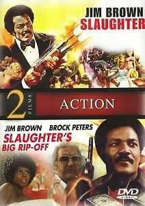 Jim Brown Slaughter >> Slaughter Slaughter S Big Rip Off 2 Film Dvd Set Jim Brown 70s Cult