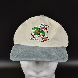 Miami-Hurricanes-NCAA-Twins-Enterprise-Vintage-90-039-s-Snapback-Cap-Hat-NWT