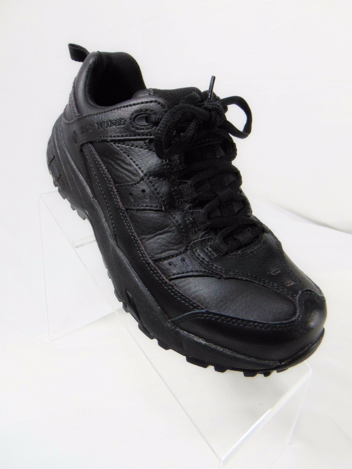 RED WING Women's Athletic Style Oxford Work Shoes Sz 7 D Wide Black safety