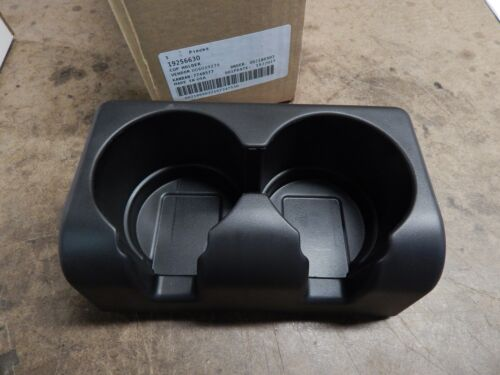 2004-2012 Colorado  Canyon  Rear Seat Black Cup Holder Insert new OEM 19256630