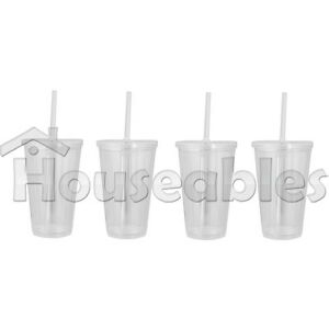 Wholesale Lot Of Acrylic Tumblers 16oz Insulated Double