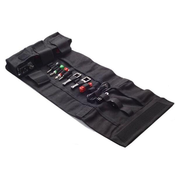 1pc Rollup Grande Toile Voyage Rouleau Sac Pour Gopro Accessoires Outil Case Portable