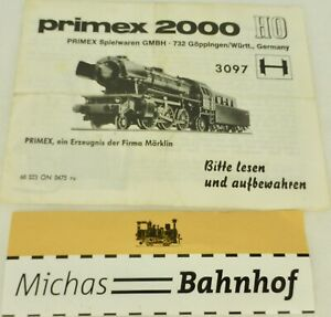Primex-2000-Manuel-3097-marklin-68-323-On-0475-Ru-H0-A