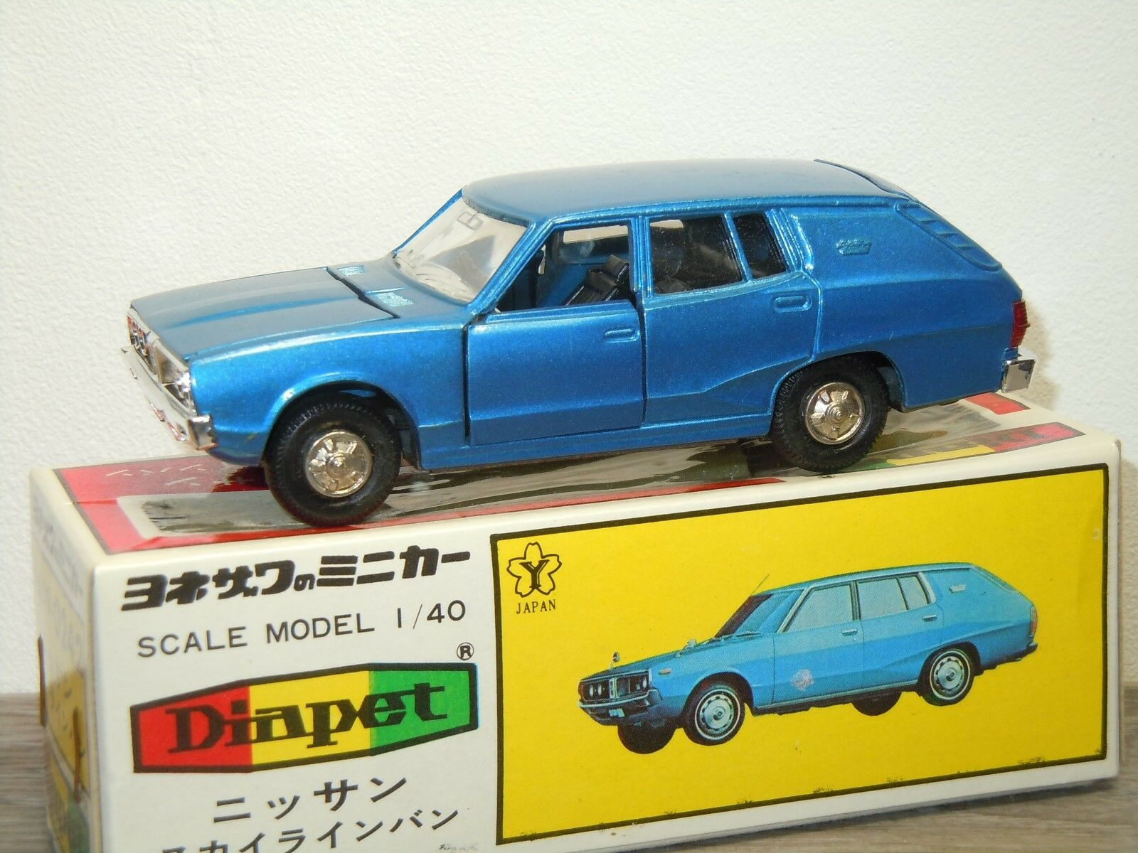 Nissan Skyline Van - Diapet Yoneazawa Toys 0242 Japan 1:40 in Box *33030