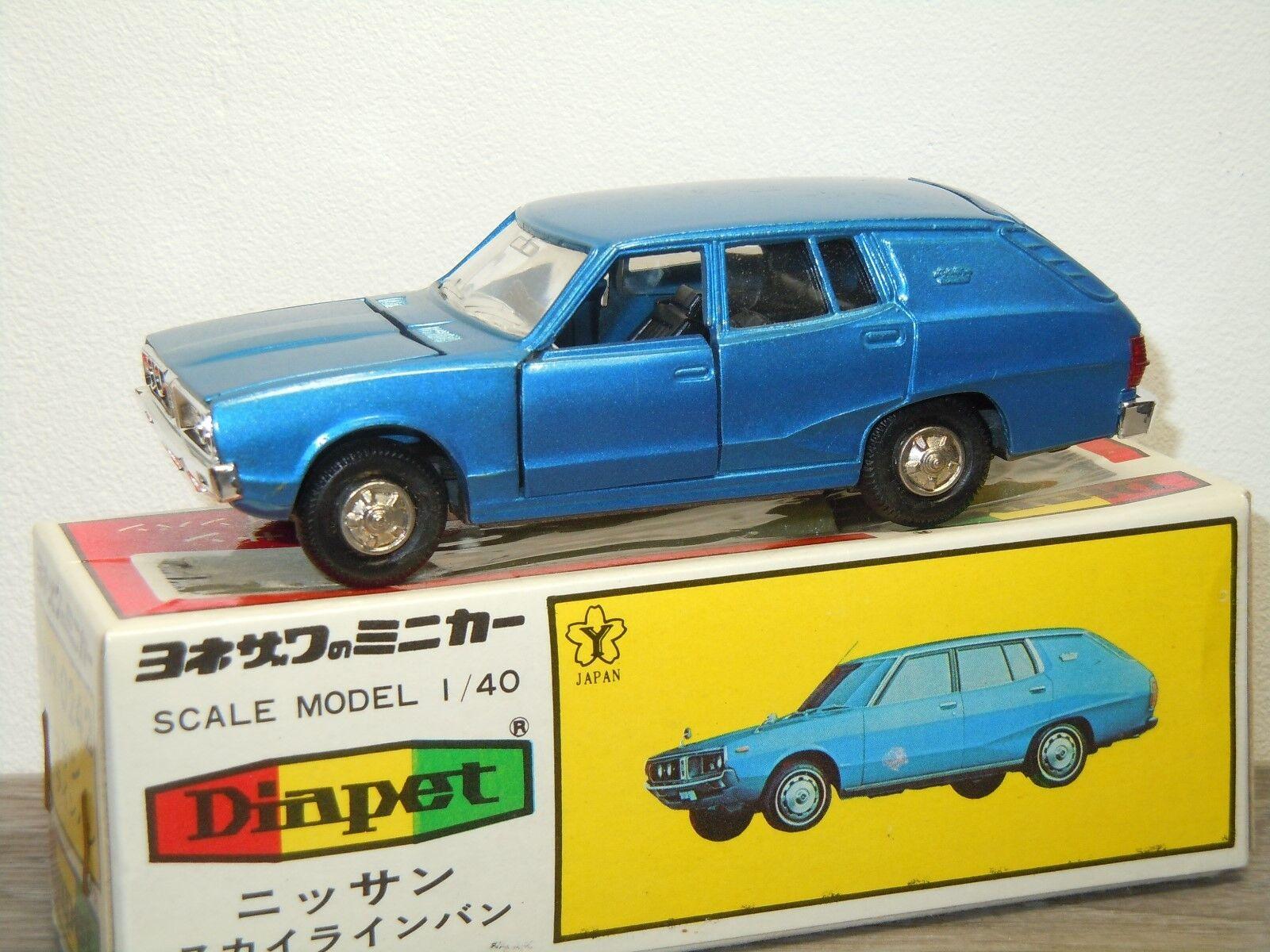 Nissan skyline van - diapet yoneazawa spielzeug 0242 japan 1  40 im kasten  33030