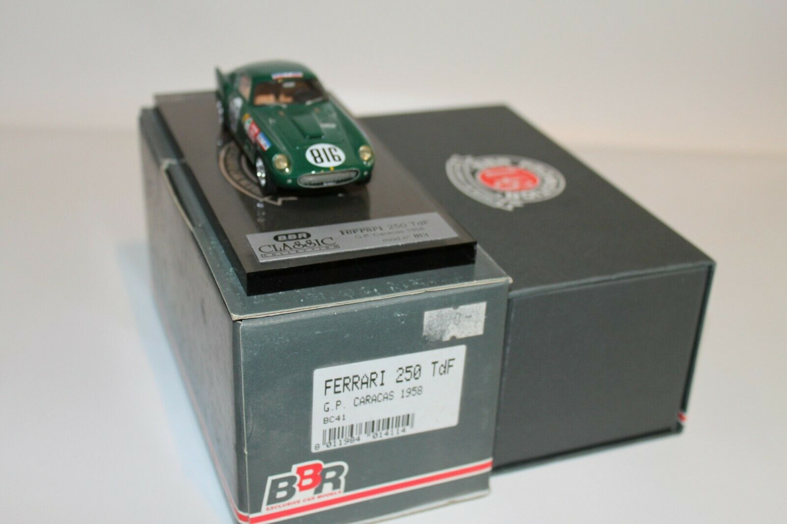 promociones de equipo BBR BC41 BC41 BC41 Ferrari 250 TDF G.P. Cocheacas 1958  Ven a elegir tu propio estilo deportivo.