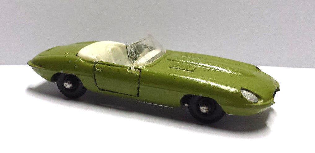 Jaguar E Type BEST BOX N 2513 vert made in  Holland voiture miniature  au prix le plus bas