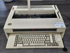 Vintage Ibm 6783 Wheelwriter 10 Series Ii Electronic Typewriter Tested
