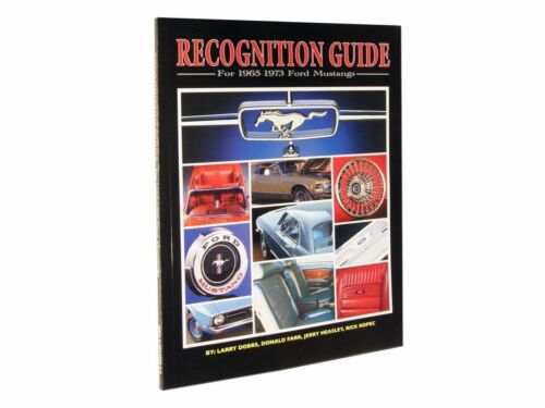 1964-1973 Ford Mustang Recognition Guide   great reference