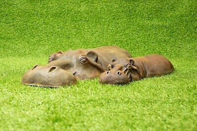 2 Hippo Garden Ornaments Gift Ideas For Teacher 7 Year Wedding Anniversary Gift
