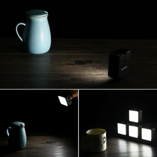 Iluminación LED Luz De Video Para Sony Alpha A9 A7S A7R A7 A77 A99 Mark III II A3000