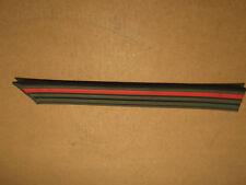 Zierleiste mit rotem Streifen Seiten hinten links Kadett E ORIGINAL OPEL 172454