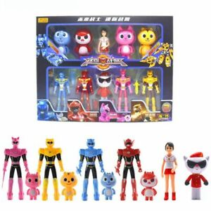 10x-MiniForce-Bolt-Max-Semi-Lucy-Action-Figures-Doll-Kid-Birthday-Xmas-Gift-Set
