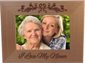 I-Love-My-Nana-4-inch-x-6-Inch-Wood-Picture-Frame