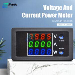 Digital-DC-0-100V-10A-4-Bit-LED-Voltmeter-Ammeter-Power-Volt-Current-Amp-Meter