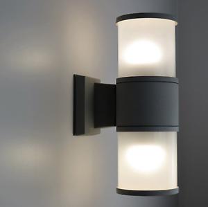 applique da esterno ip65 led 20w doppia luce diffusa