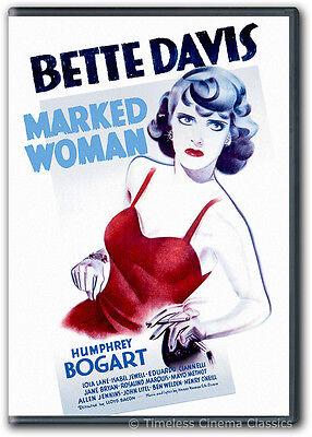 Marked Woman DVD New Bette Davis, Humphrey Bogart, Lola Lane, Isabel Jewell