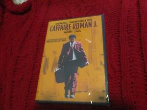 "DVD NEUF ""L'AFFAIRE ROMAN J."" Denzel WASHINGTON, Colin FARRELL / Dan GILROY"
