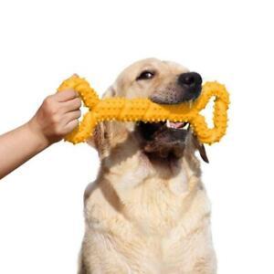 LANYUKEJI Giochi da Masticare Resistenti per Cani Grandi 13 Pollice giallo