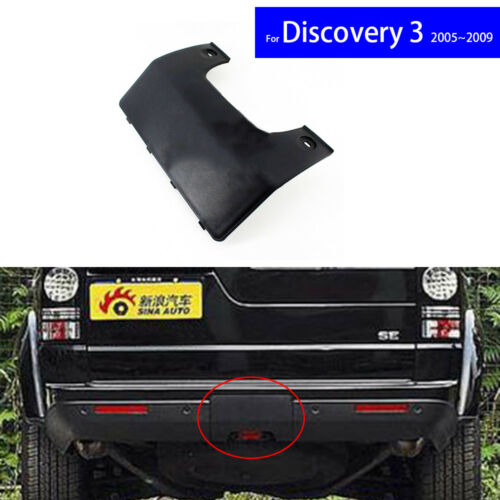 Rear Car Bumper Tow Hook Cover Cap for Land Rover Discovery 3 4 2005 2006-2009