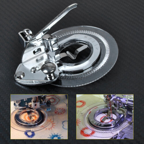 Sewing Machine Flower Stitch Embroidery Foot for Brother Singer Janome