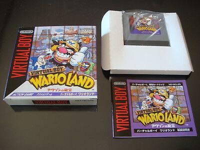 Wario Land Nintendo Virtual Boy Japan