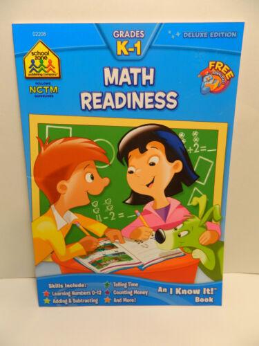 School Zone Grades K-1 Math Readiness Deluxe Edition        ****New****
