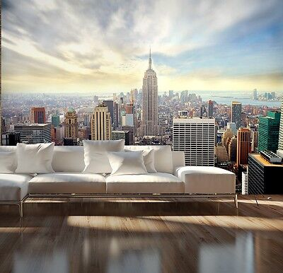Wallpaper Mural Photo New York Skyline Wall Decor Paper Giant Poster Cityscape Ebay