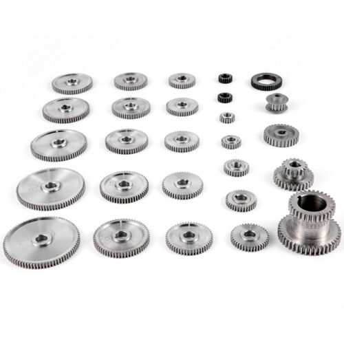 Change Gear for Mini Lathes and Milling Machines VEVOR 27PCS Metal Lathe Gears