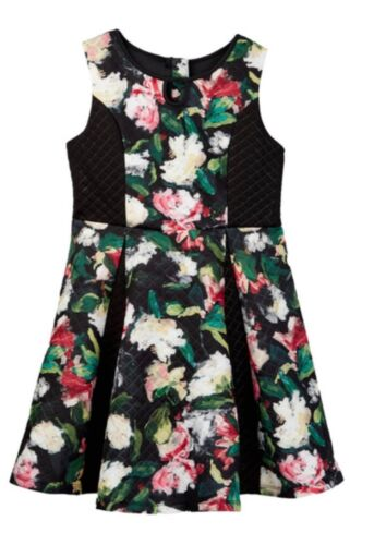 Pippa /& Julie A-line floral Dress Girls size 12 Christmas Thanksgiving NEW wTags