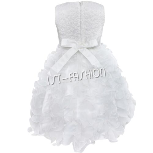 Baby girl princess dress evening dress wedding baptism ceremony costume new
