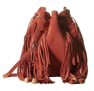 4fe2ce360aab Image is loading TOMS-Celestial-Soft-Suede-Leather-Fringe-Drawstring-Mini-