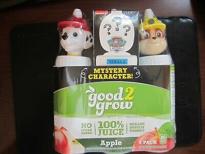 """?EVEREST /""""MYSTERY EDITION/"""" Good2Grow /""""PAW PATROL Series 3/"""" Bottle TOPPERS - 3"""