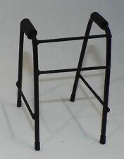 Dollhouse Medical Equipment White Metal Crutches 1:12 Handpainted Miniatures