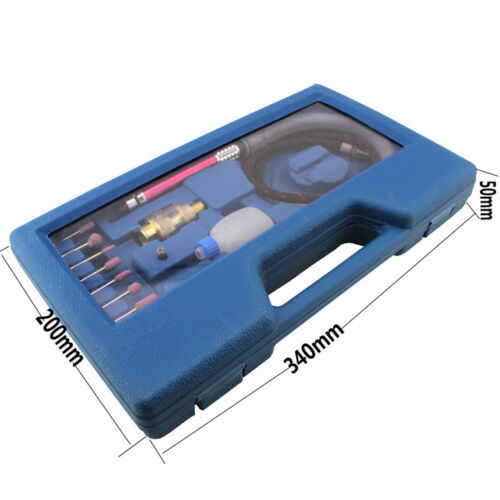 "1//8/""  Pneumatic Micro Air Pencil Die Grinder Polishing Engraver Tool Kit"