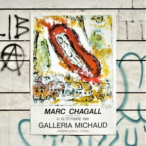 Marc-Chagall-Poster-Vintage-1980