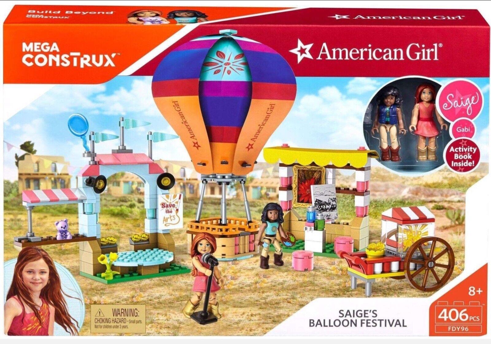 Mega Construx American Girl Saige's Ballon Festival Baukasten