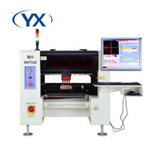 Smt550 Pick And Place Robot Production Line With 50 Feedersservo Motor 4 Heads