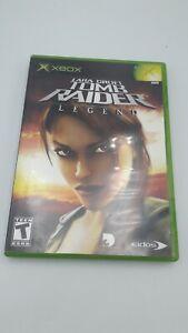 Lara-Croft-Tomb-Raider-Legend-Microsoft-Xbox-2006-Free-Shipping-No-manual