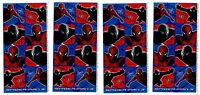 4 Sheets Marvel Comics Spiderman 3 Scrapbook Stickers