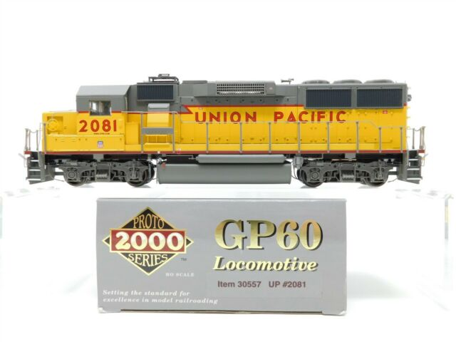 HO Scale Proto 2000 30557 UP Union Pacific GP60 Diesel Locomotive 2081 DCC Ready