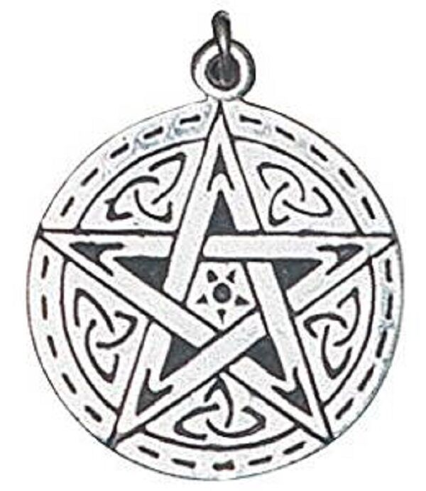 Tienda Tu Naa Nacimiento Celta Colgante Charm con Cadena - silver de Ley (BC15)