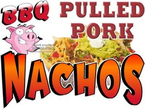 BBQ-PULLED-PORK-NACHOS-VINYL-DECAL-CHOOSE-SIZE-CONCESSION-STAND-BOARDWALK