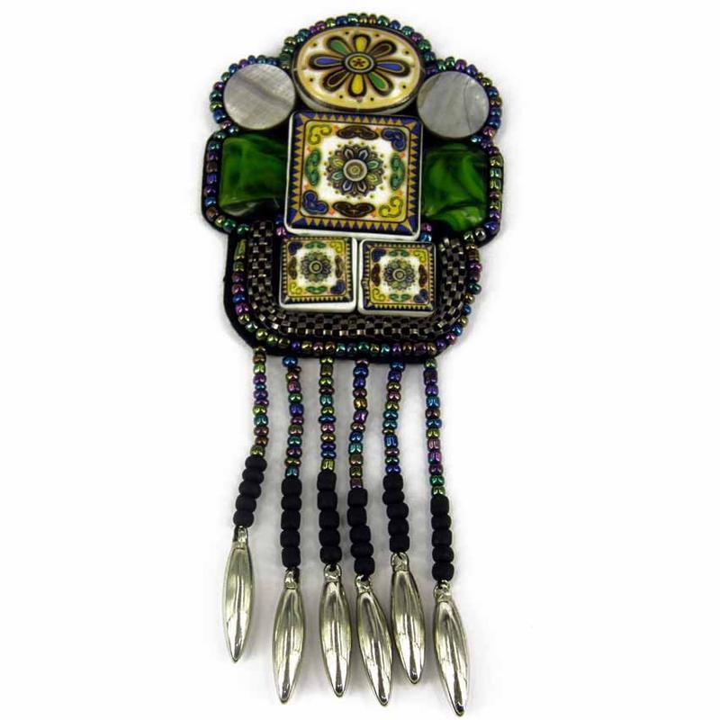 Costura Parche bolsa Decoración Inca Kuchi Afgano Banjara Tribal cuentas AF81